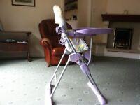 Child's highchair