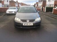 Volkswagen Golf 1.6 FSI S 5dr hatchback petrol manual 2005 low mileage full service history £1695