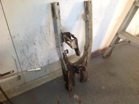 Yamaha dt125 lc swing arm