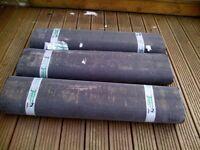 Tuindeco roofing felt - 3 rolls measuring 10m x 1m each