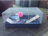 Rat cage with accessories ,,possible free delivery