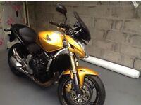 Honda Hornet 600 Metalic Yellow many extras excellent condition