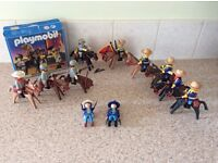 Playmobil set 3783 Confederate Soldiers and flag plus others from American civil war
