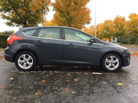 FORD FOCUS 1.6 TDCI ZETEC 115 BHP(LOW MILES, FULL SERVICE HISTORY, RECENTLY SERVICED, £20 ROAD TAX)