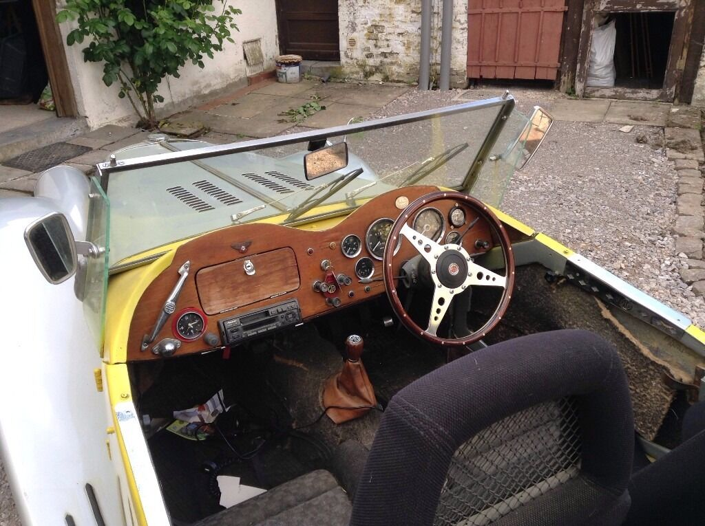 Rare kit car, GENTRY MGTF sports car, tax free fun, Triumph based ...