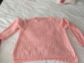 Red herring ladies jumper size 20