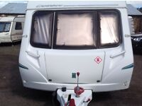 Abbey cardinal 6berth twin axle caravan 2005