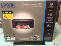 Epsom XP 235 Wireless Printer/Scanner. Brand new, still in the box