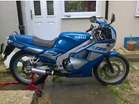 1992 model, Yamaha TZR 125 YPVS, 2RH Model, 10 Months Mot, very nice condition
