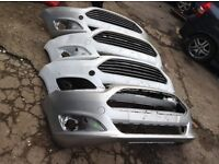 Ford Fiesta 2012-2015 front bumper £25 grills extra