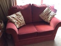 FREE - Two comfortable Dralon settees