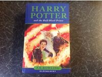 Harry Potter 1st Edition with error.