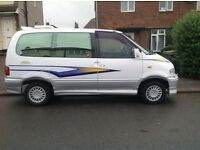 Very rare Nissan day van/ vanette excellent condition inside and out