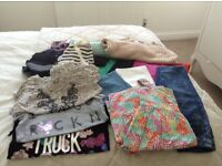 Bundle of girls clothes age 9-13