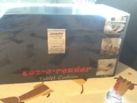 Brand New Coz e reader cushion type iPad holder