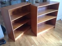 Pair of John Lewis bookcases for quick sale REDUCED TO £30!