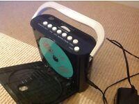 CD and Radio Portable Player