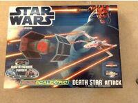 Star Wars micro scalextric Death Star Attack