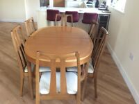 Nathan Dining Table and Chairs (Teak)