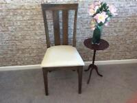 Chair and small wine table - £5 for both!
