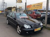 Mercedes C220 diesel automatic 2007 one owner 50000 fsh ful year mot mnt car fully serviced may px