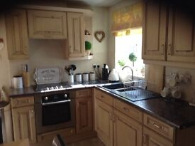 Moores fitted kitchen complete with appliances £500 vgc