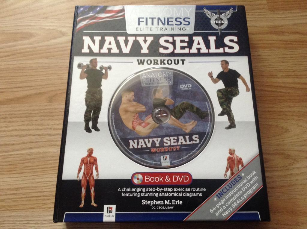 New navy seals workout book and dvd