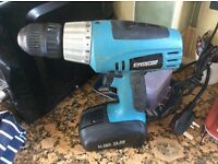 Used battery drill