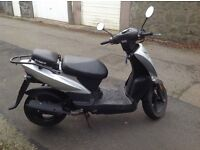 Well cared for Kymco 50cc moped 64 plate