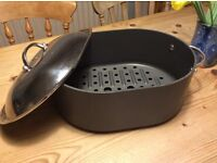 Non-stick roasting pan