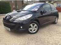 Peugeot 207 1398cc 59 plate in black