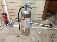 Stainless Steel water fire extinguisher
