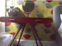 Fonteyn Dressing Table with solid Oak Legs and Thick Oak Veneer Top
