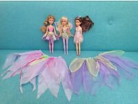 Fairy Dolls with matching Tutus toys