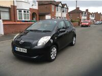 LOW mileage 48000 miles Toyota Yaris 1.3 TR 5dr hatchback petrol manual 2008 full history £2895