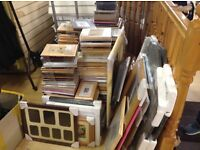 JOB LOT!!! OVER 200 PICTURE FRAMES!!!