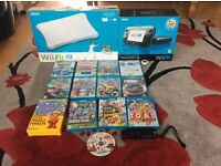 nintendo wii u bundle 13 games wii fit u
