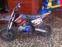 Lmx140cc pitbike