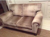 Laura Ashley velvet sofa
