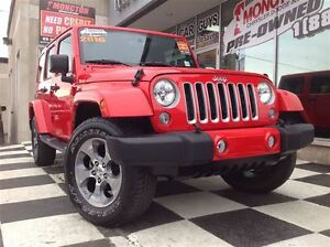 2016 Jeep WRANGLER UNLIMITED Sahara A/C, Touch screen radio