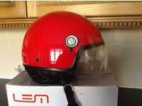 LEM HELMET, RED, SMALL SIZE