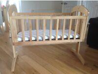 Mamas & Papas Breeze Crib (Natural)