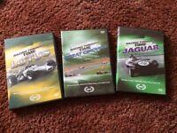 3 car/racing dvd's