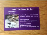 Cat and small animal sitter based in Bo'ness