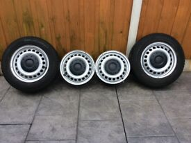 FOR SALE STEEL WHEELS FOR VW T5