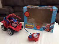 Spiderman remote controlled Quad Bike Marvel with an original box
