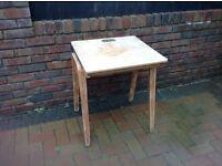 Old school desk, needs varnishing or painting