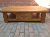 Hand Made Pine Coffee Table
