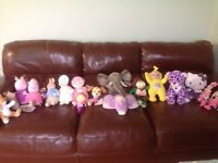 Collection of soft toys