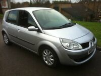 2007 RENAULT SCENIC DYNAMIQUE 1.5 DCI **6-SPEED**DIESEL**65MPG**CHEAP ROADTAX